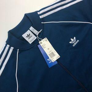 Heredero Charlotte Bronte Tiranía  adidas Jackets & Coats | Adidas Originals Sst Track Jacket Legmar Blue Xl |  Poshmark